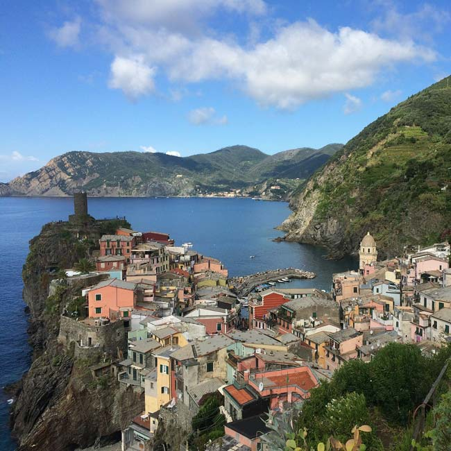 Photo de Vernazza, village de le Cinque Terre