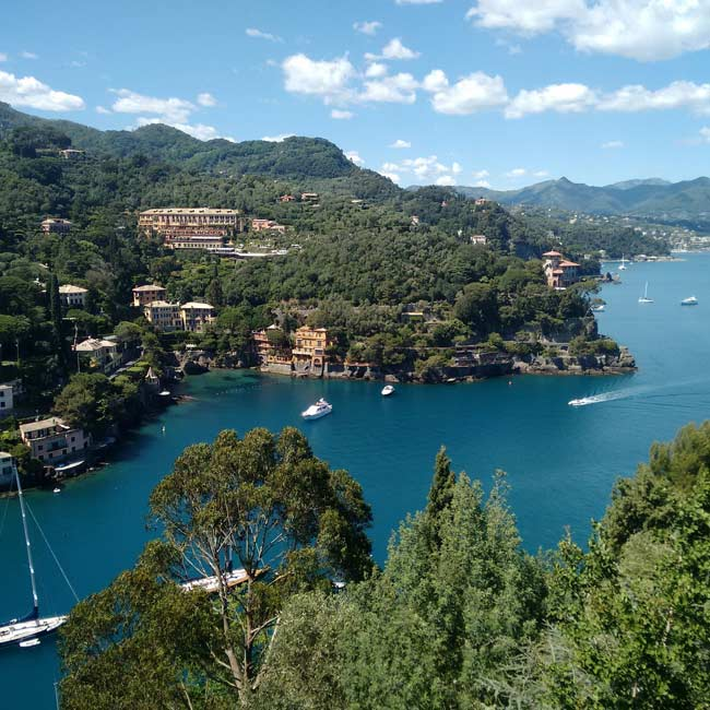Photo de la baie du Portofino