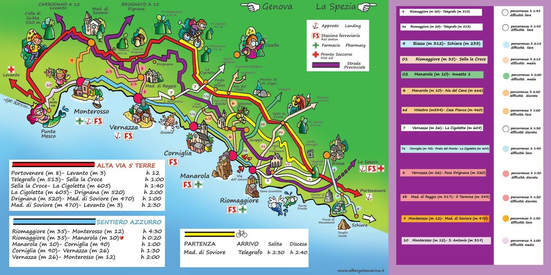 Assez Randonnées à Deiva Marina Cinq Terres FB71